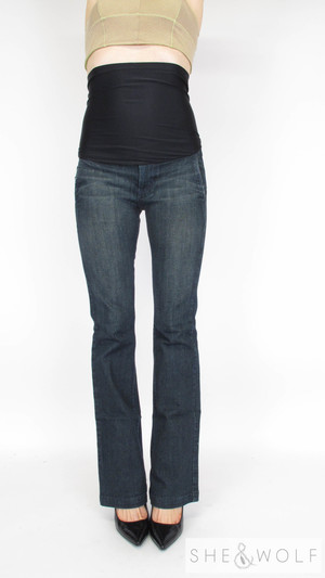 fd41bfd9d4812 James Jeans Flare Maternity Jeans 27 x 33