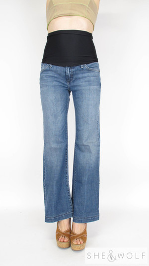 cd557e7b82a66 James Jeans Flare Maternity Jeans 30 x 31