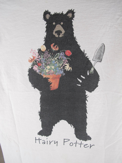 Vtg hairy potter bear potting flowers thin fit tee she wolf vtg hairy potter bear potting flowers thin fit tee publicscrutiny Gallery