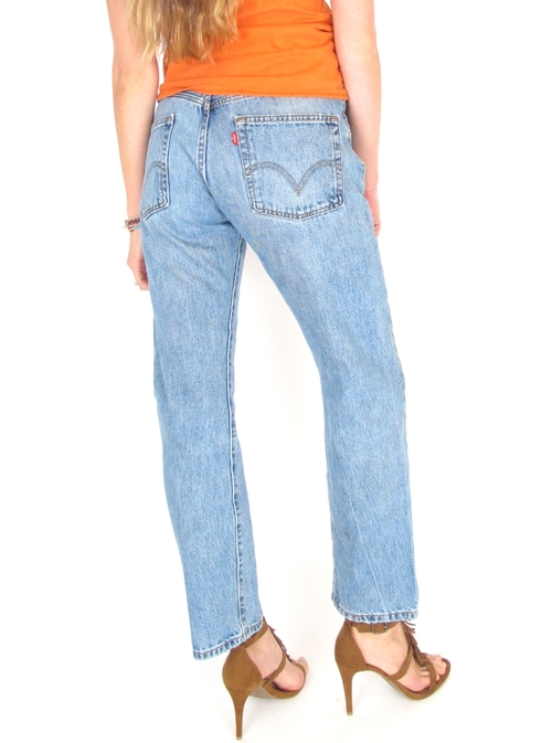 f6da461f Vtg 70s High Waist Levi 501 Unisex Jeans 31 x 30 — She & Wolf