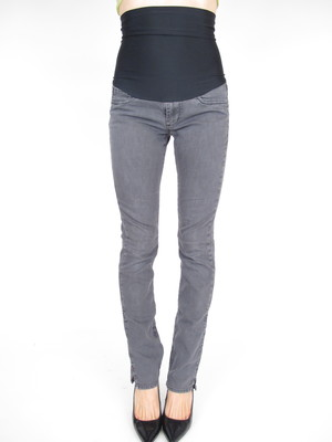 3d8c0af65981d Suzy Radcliffe Straight Leg Gray Maternity Jeans 30 x 32.5