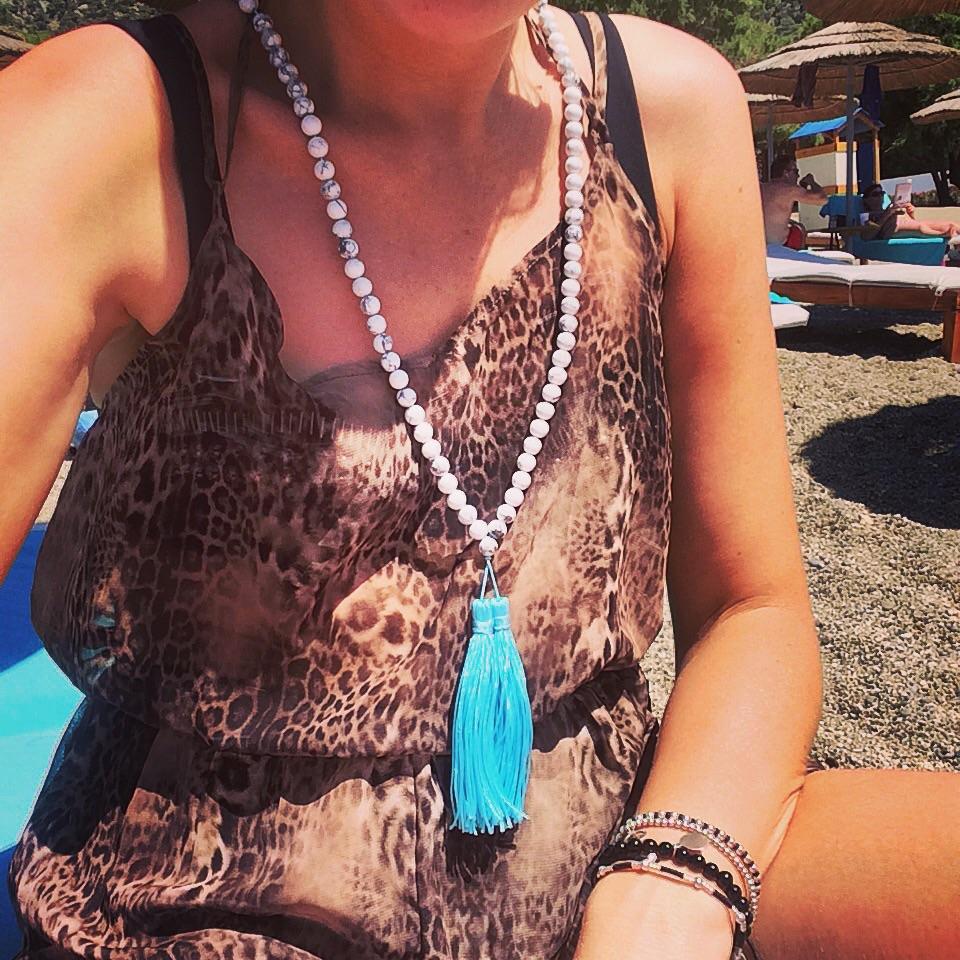 H&F Premium Mala Tassel Necklace