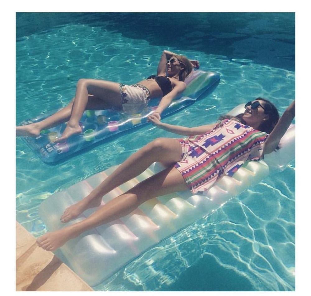 Fun in the sun in Ibiza.