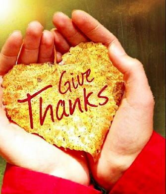 What Do You Give Thanks for?