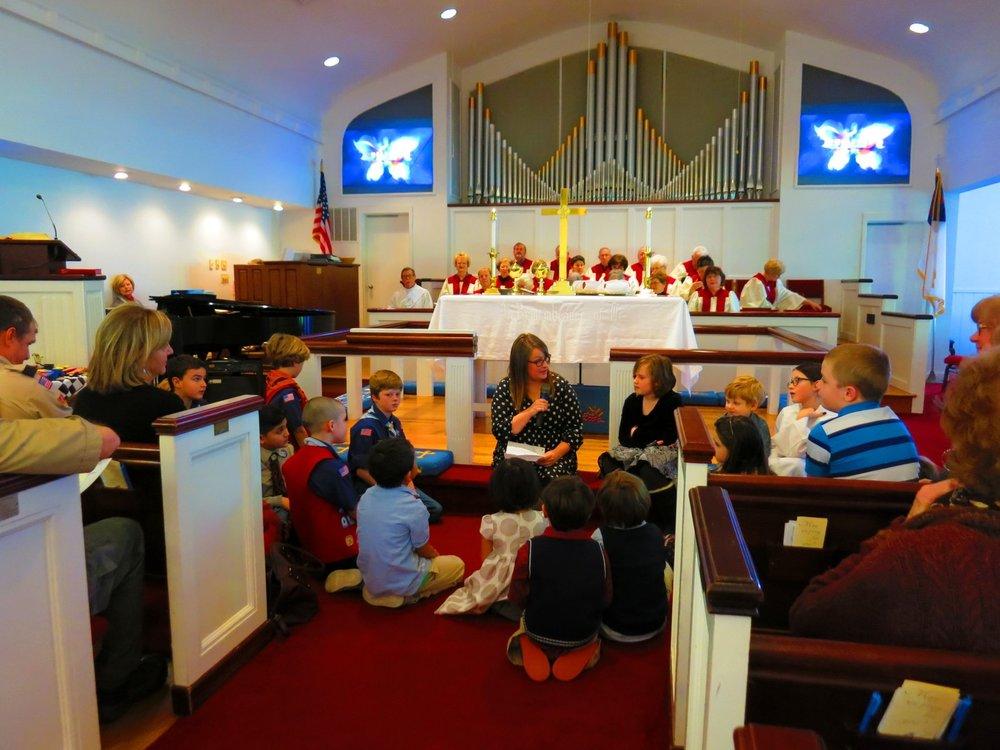 Worship at HUMC