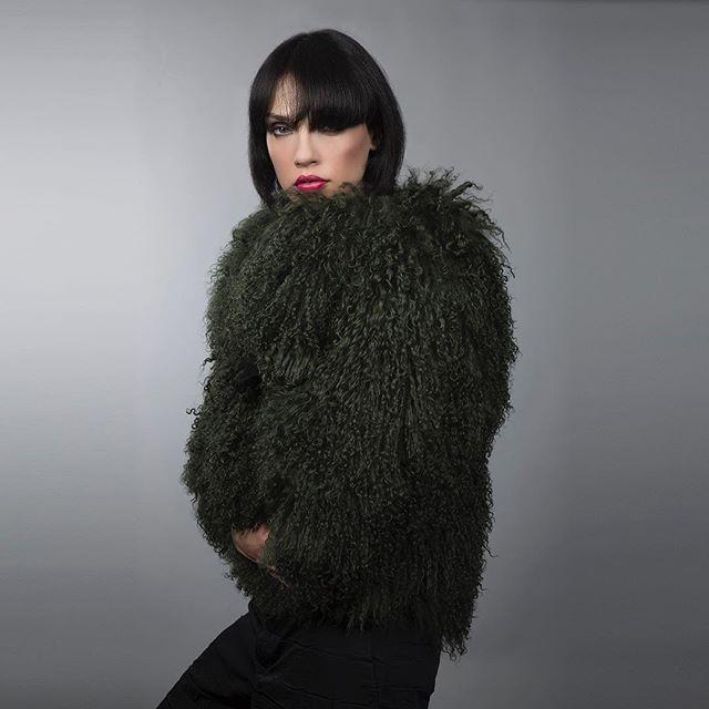 #wadabags time for a yeti coat, my oversize tibetan lamb coat in envy green  #yeti  #greenwithenvy  #instafashion #fashion #glam #gorgeous #style #beautifulthings #furry  #coat  #jacket  #winterfashion  #glammy #sheepskin