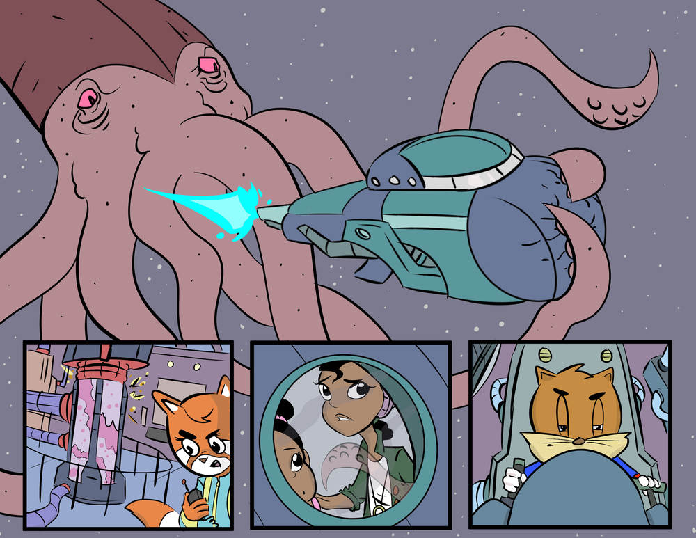 Into the Squid We Go