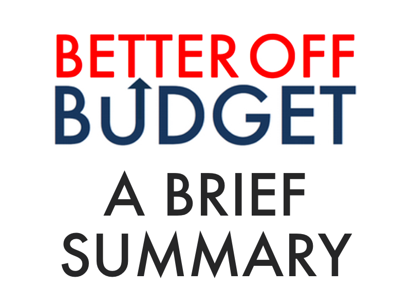 April 2014, the CPC released their Better Off Budget, a budget alternative moving the U.S. forward towards a more progressive tomorrow and creating millions of jobs for Americans.