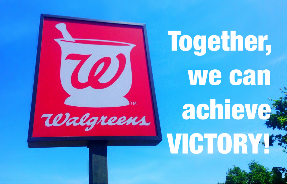 Walgreens is trying to avoid paying taxes due to the American people by moving their corporate headquarters off-shore. Tell Walgreens to stop deserting America and pay the taxes they owe to the American people!