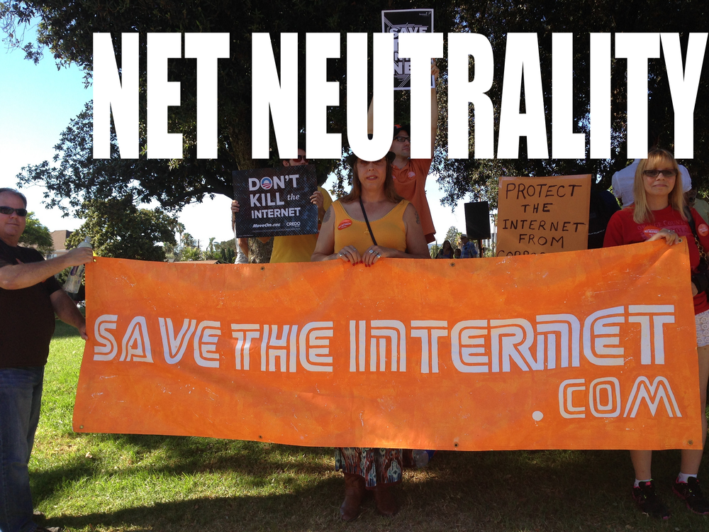 SAVE NET NEUTRALITY! Sign out petition today to stand in favor of a fair internet that works for the American people!