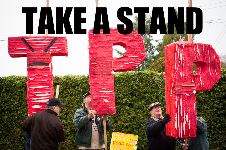 Take a stand on the Trans-Pacific Partnership and reject Fast Track Authority! Sign our petition today! Original Image