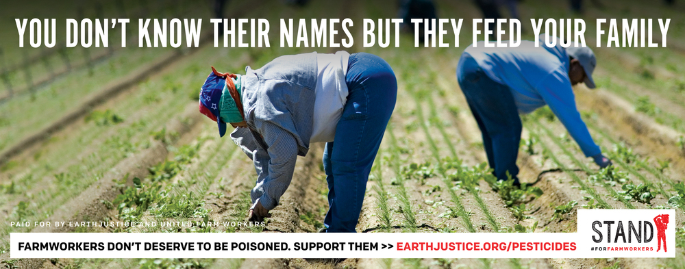 Stand #ForFarmWorkers by submitting a public comment to the EPA asking them stregthen the Worker Protection Standards!
