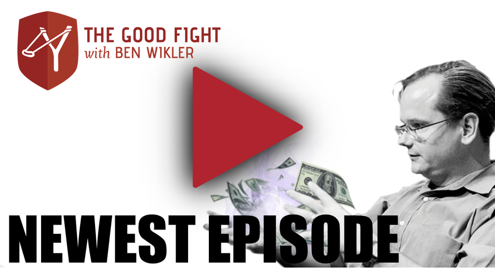 Episode 31 of The Good Fight with Ben Wikler features Lawrence Lessig accomplishing the extraordinary first major goal in fighting against money in politics today.
