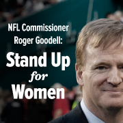 Due to progressive efforts petitioning to the NFL, real wins for standing up for women have been made! Check out the full statement above and the petition that helped usher in this change!