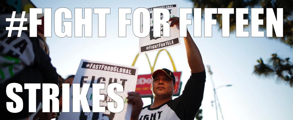 The next round of Fast Food Worker Strikes are planned for this Thursday, September 4, 2014! Be sure to check out the story or follow us on twitter and the hashtag #fightforfifteen on Thursday!