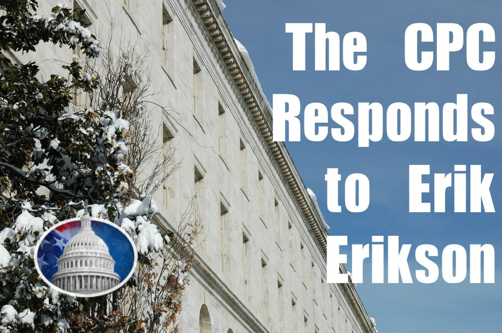 The CPC has taken a stand against the derogatory comments made by Erik Erikson regarding fast food workers.