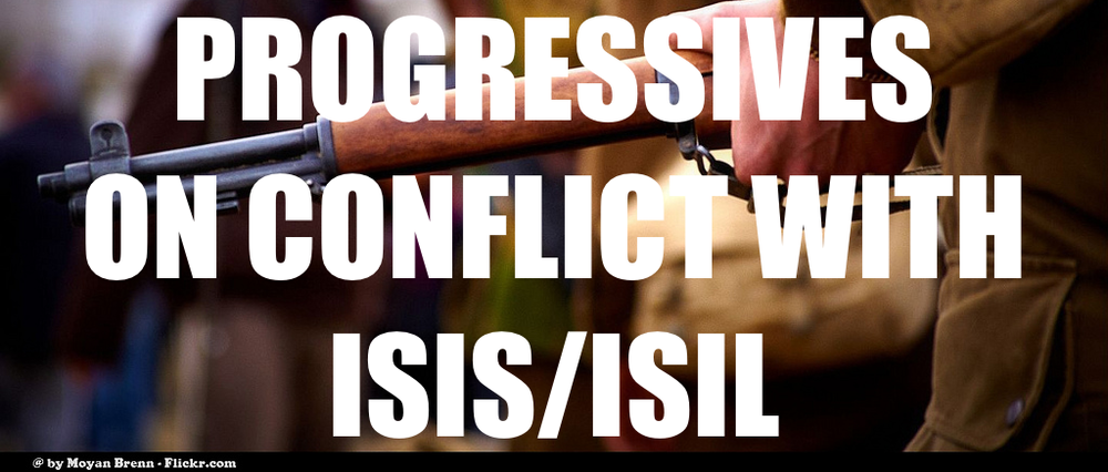 With President Obama's announcement about conflict in Iraq regarding ISIS/ISIL, progressives have taken a stand. Check out the link to see where progressives in Congress and around the country stand regarding open conflict in Iraq with ISIS/ISIL