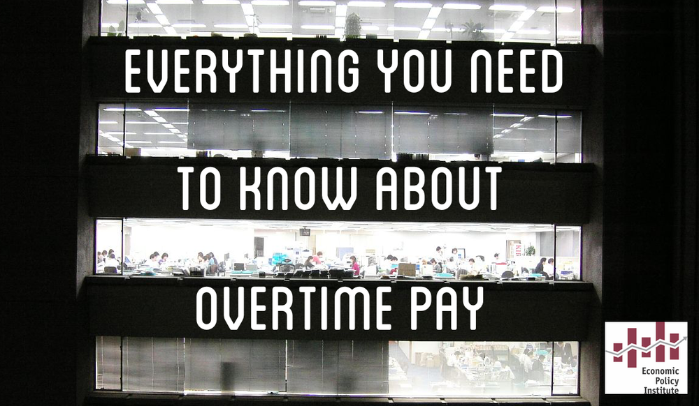 EPI has an outstanding FAQ on all the facts on overtime pay and why we are long overdue for updating overtime pay on a national scale.