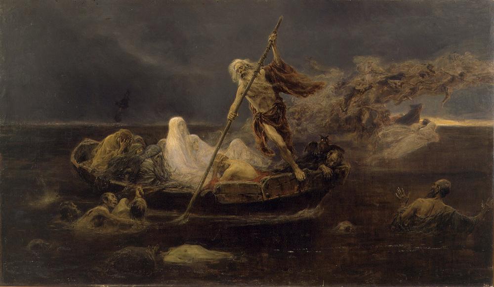 José Benlliure Gil, Charon's Boat, Museu de Belles Arts de València