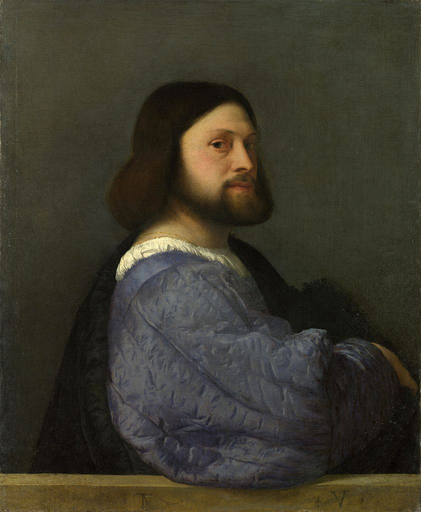 Titian, Portrait of a member of the Barbarigo family (c 1510), National Gallery