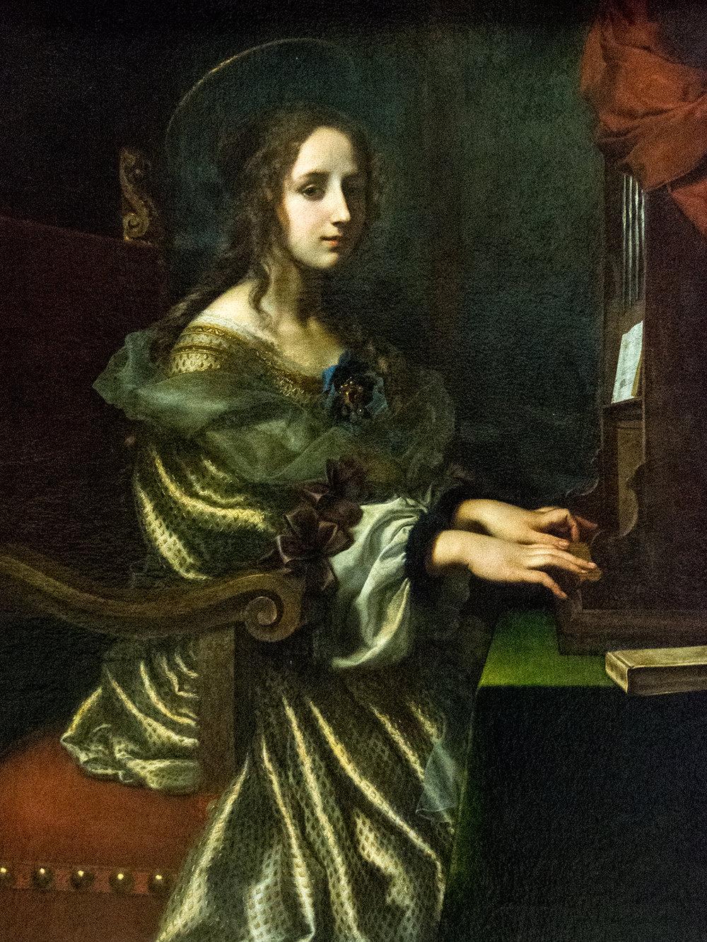 Carlo Dolci (1616-1686), St Cecilia