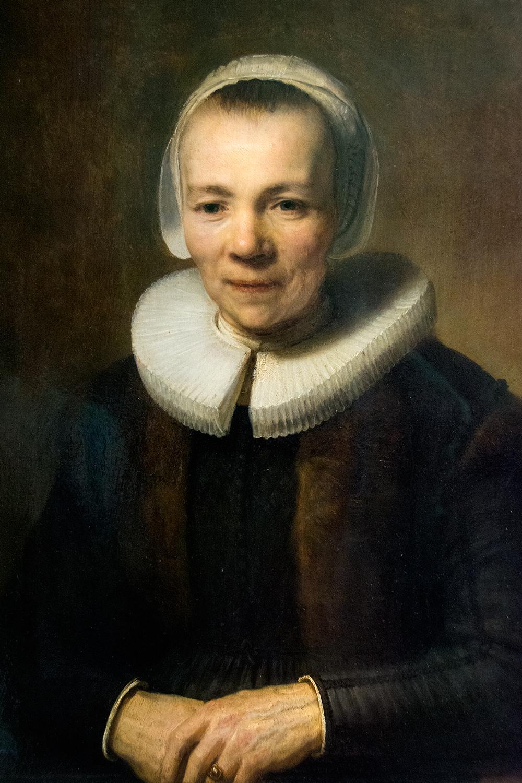 Rembrandt van Rijn, Portrait of Baertje Martens (1640)