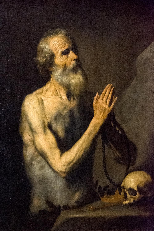 José de Ribera, St Onuphrius (1637)