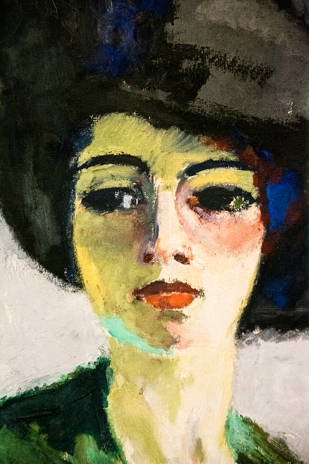 Kees van Dongen, Lady in a Black Hat (1908)