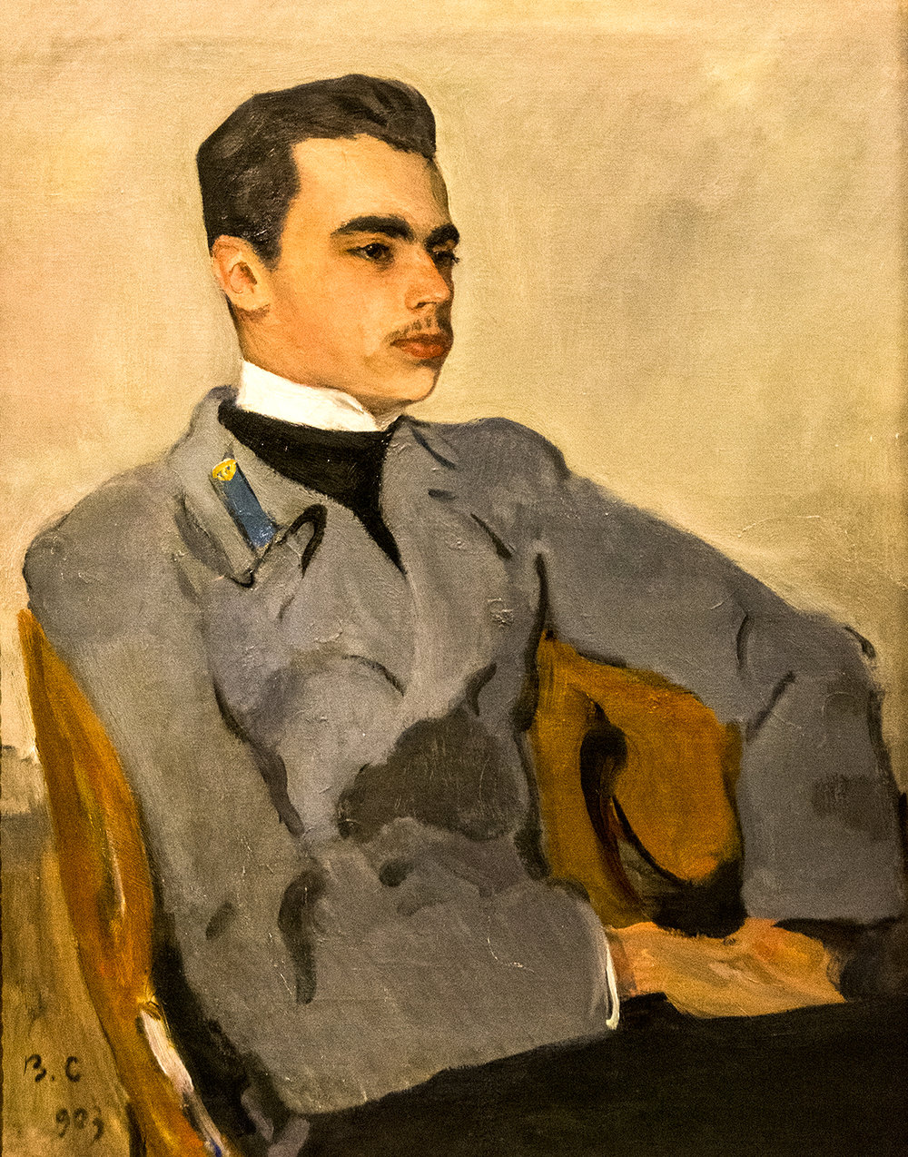 Valentin Serov, Portrait of Count Nikolai Sumarokov-Elston (1903)