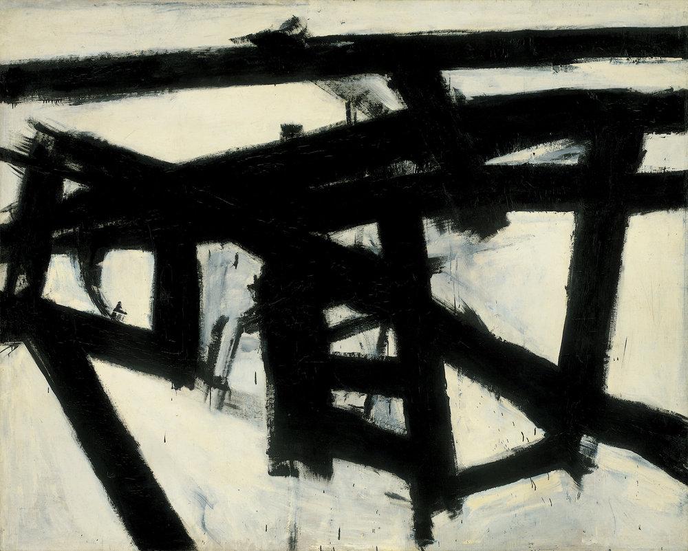 Franz Kline,  Mahoning  (1956)