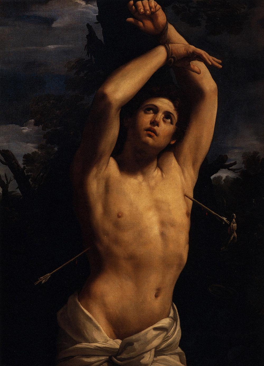 Guido Reni, The Martyrdom of St Sebastian (1616)