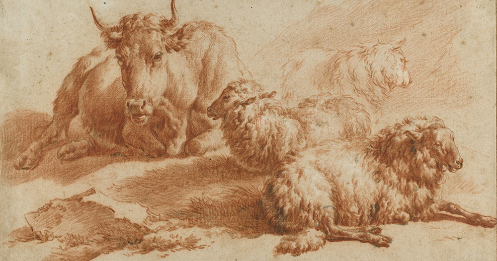 Adriaen van de Velde, animal studies