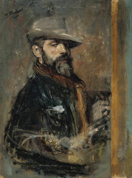 Ignacio Pinazo,self-portrait (1896)