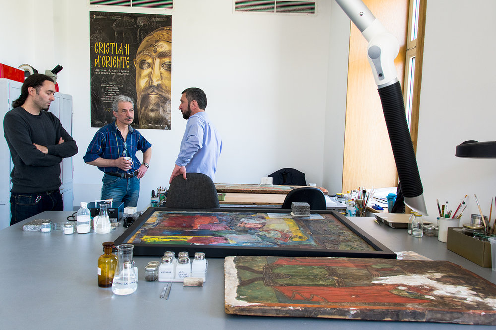 The National Gallery's conservation department