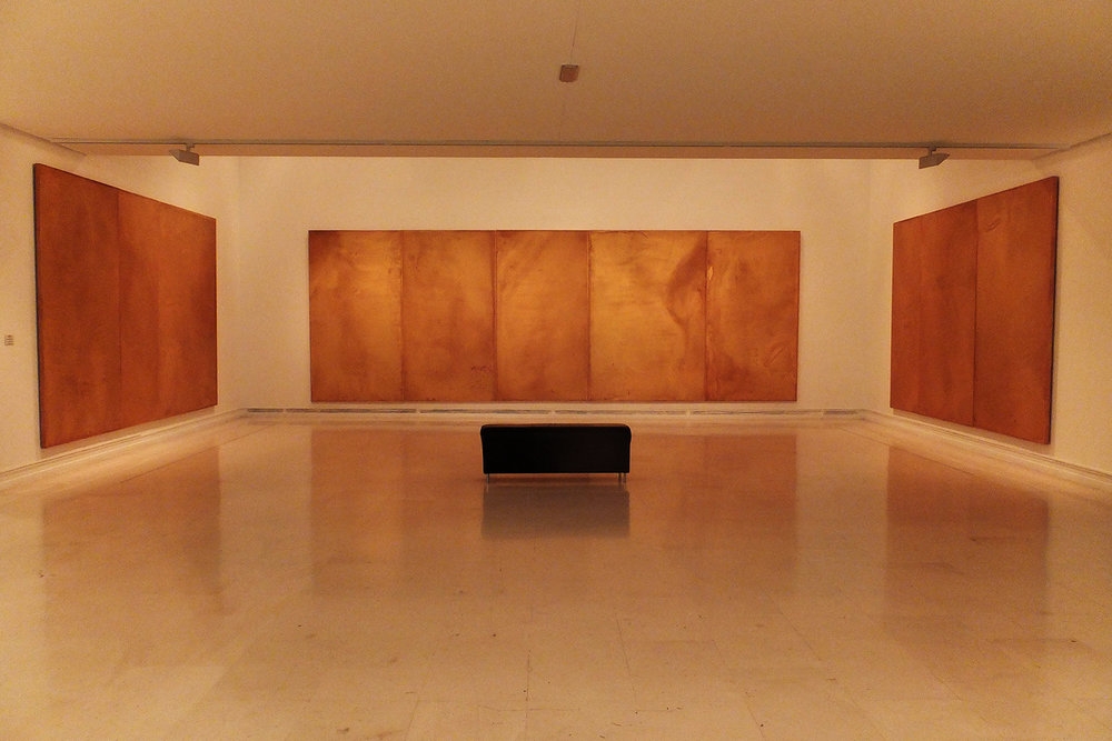 José María Sicilia,  La Luz Que Se Apaga  ( The Light That Fades ), oil and wax on wood, 1996 (IVAM collection)