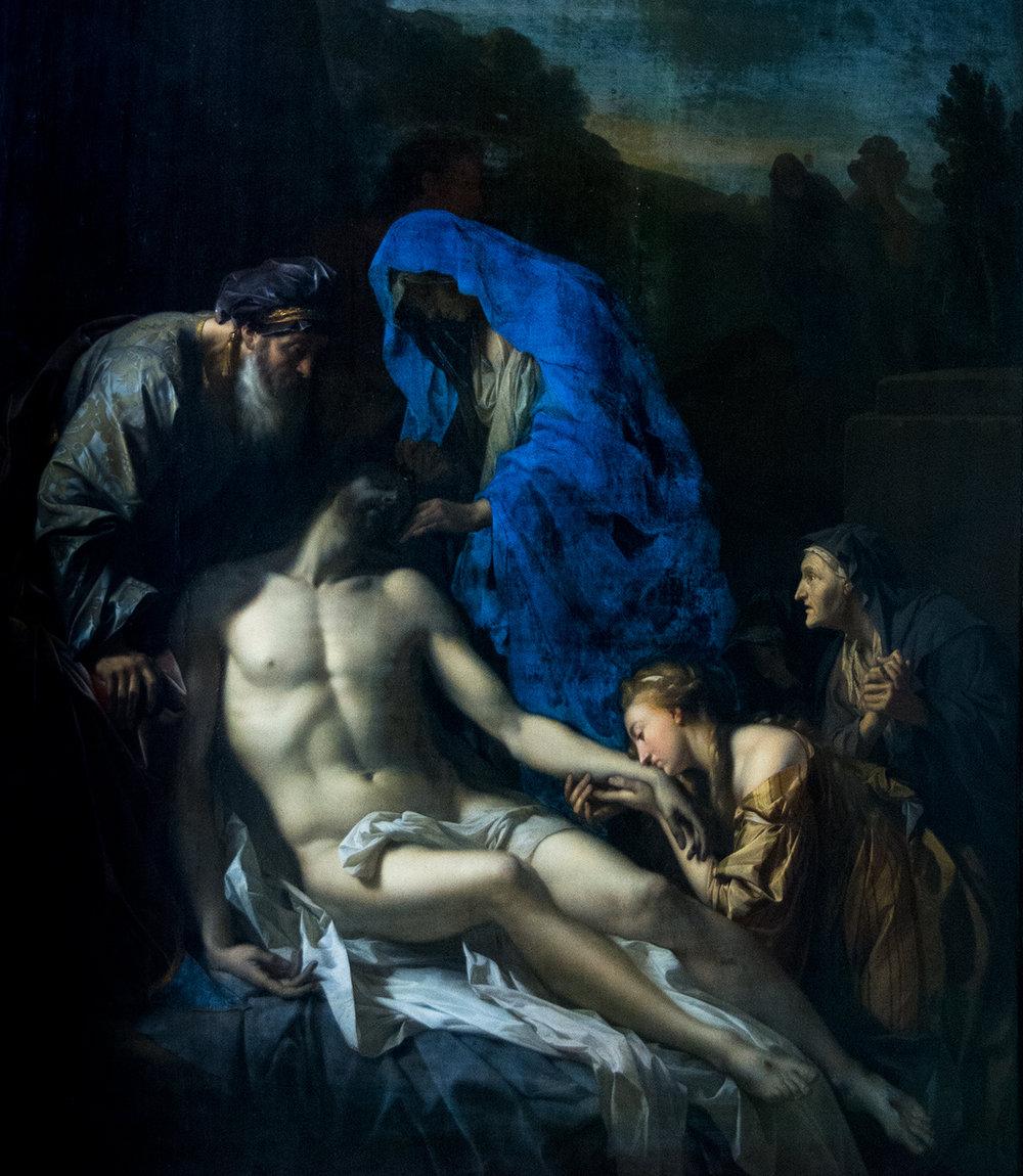 Adriaen van der Werff, Entombment of Christ (1703), Alte Pinakothek