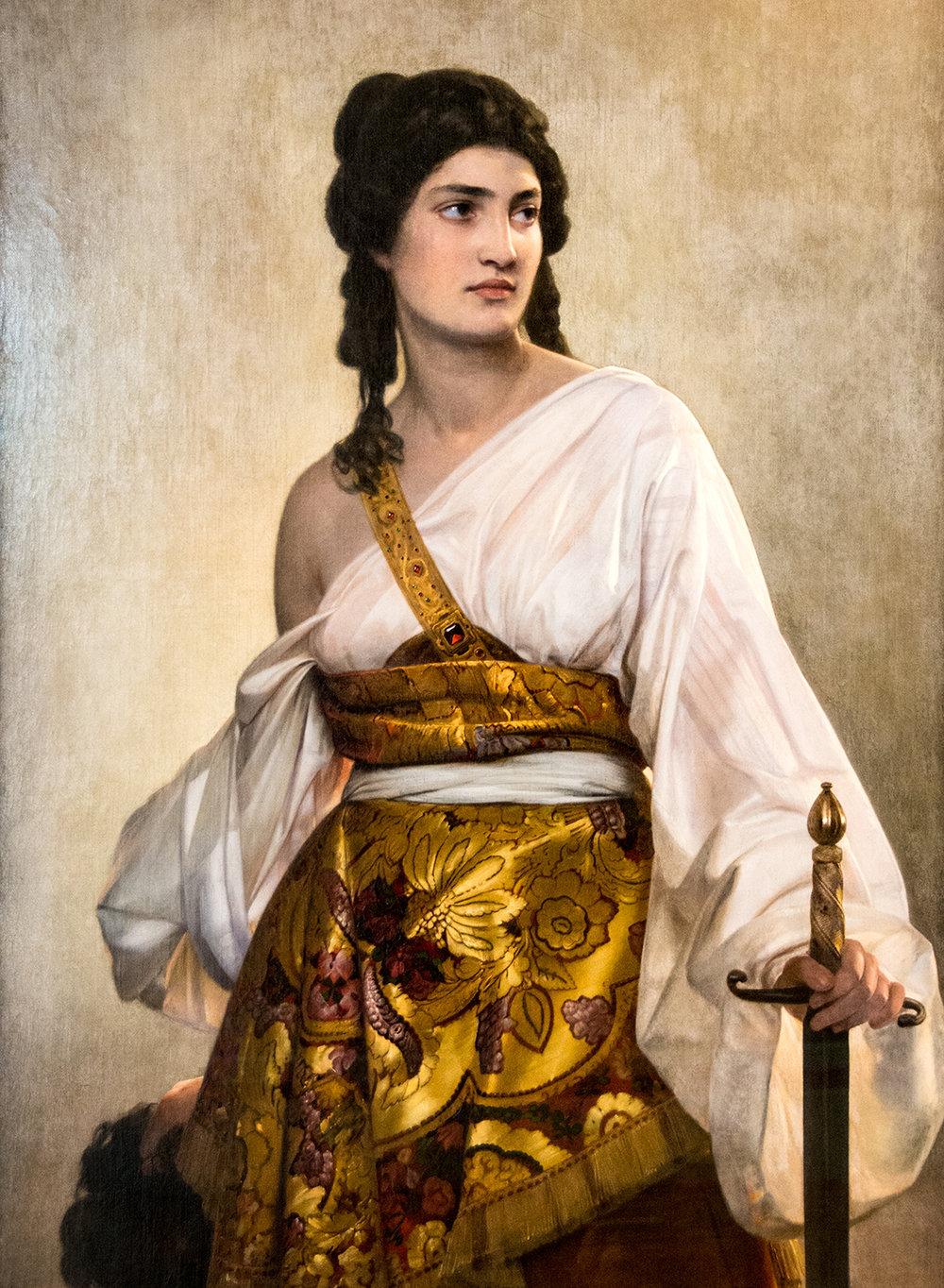 August Riedel (1799-1883),  Judith  (1840), Neue Pinakothek