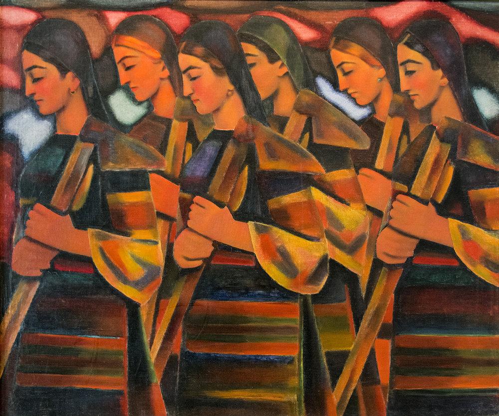 Vladimir Dimitrov, Women Hoers (1937)