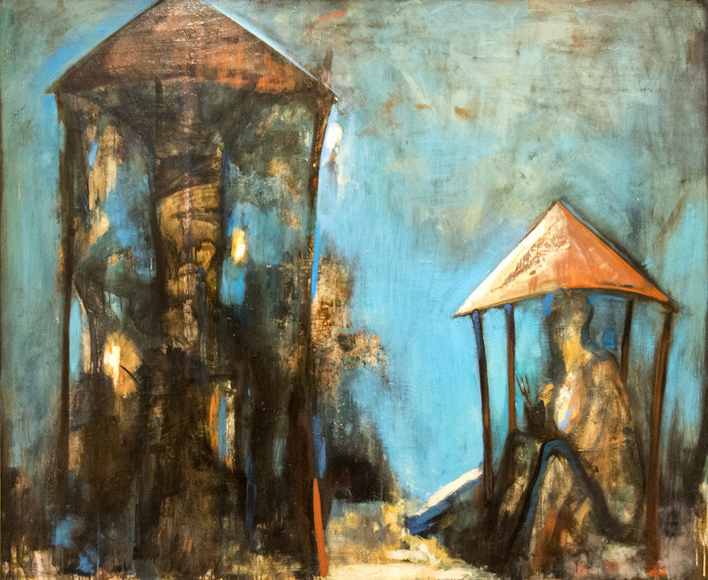 Angel Hristov, The Burnt Down House (1989)