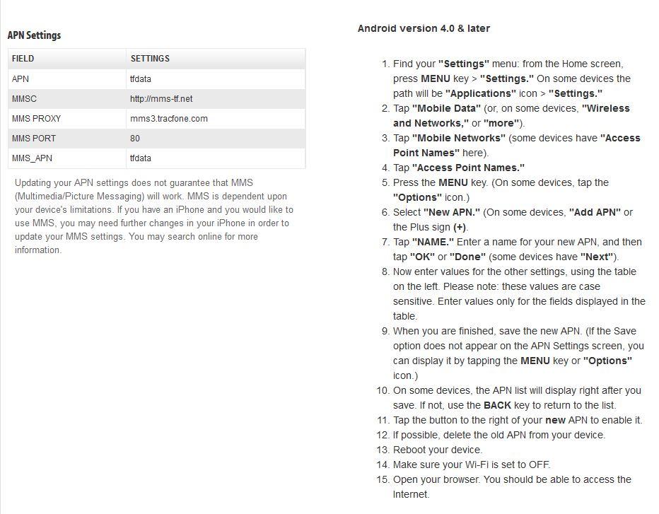 note 4 apn settings straight talk
