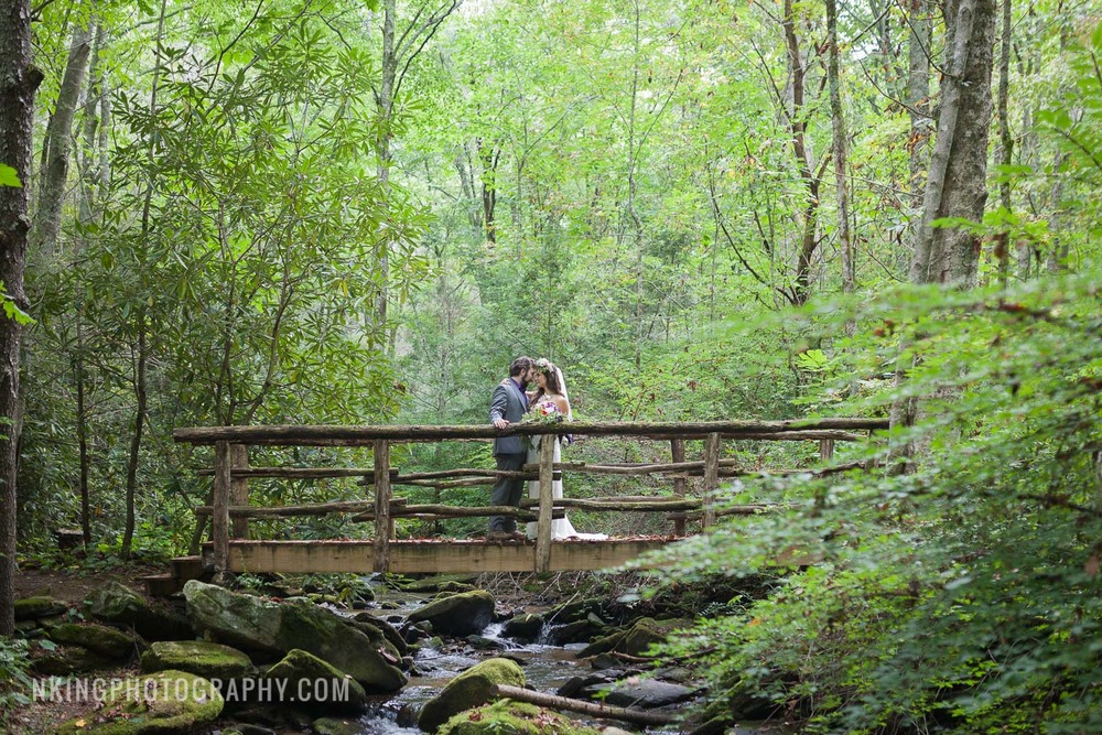 Laughing Waters Retreat Wedding