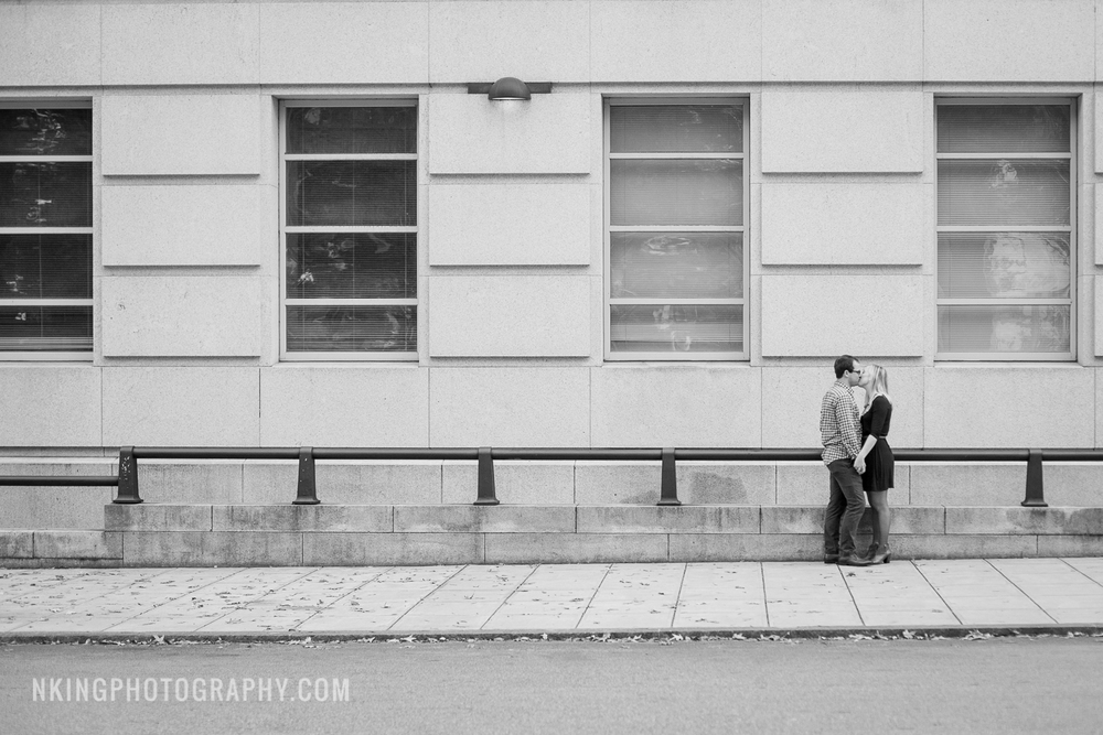Downtown Raleigh Engagement Shoot