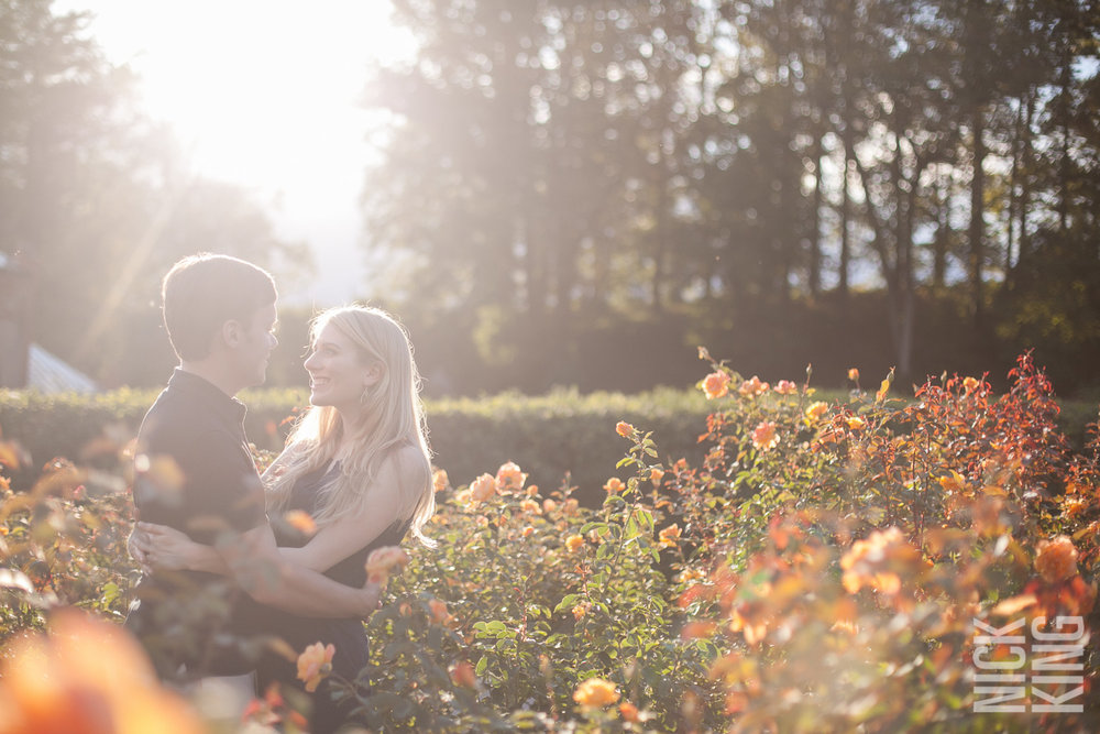 Biltmore Estate Engagement Photography