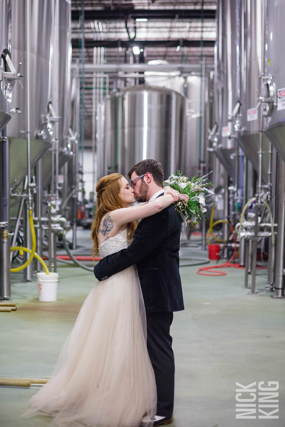 Highland Brewery Wedding Photography