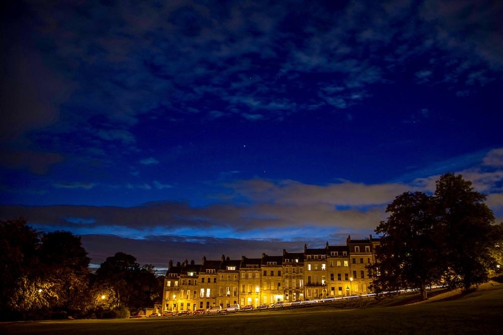 Marlborough Buildings and stars, Bath