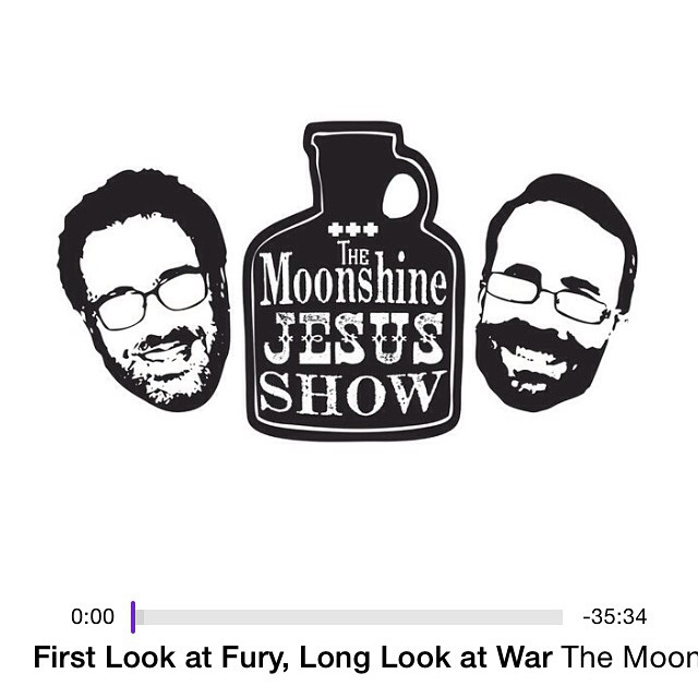 "A special thanks to our friends @marksandlin and David Henson for our first media shout-out on The Moonshine Jesus Show!  Podcast: ""First Look at Fury, Long Look at War"" - October 13, 2014  Like their Facebook page: https://www.facebook.com/moonshinejesus  Check out their podcast: http://moonshinejesus.podbean.com/  Subscribe to them on iTunes: https://itunes.apple.com/us/podcast/the-moonshine-jesus-show/id814442218?mt=2 - Your ""Extra Cool Listeners""  #menofthebeard #beard #beardnation #beardlife #beardoil"