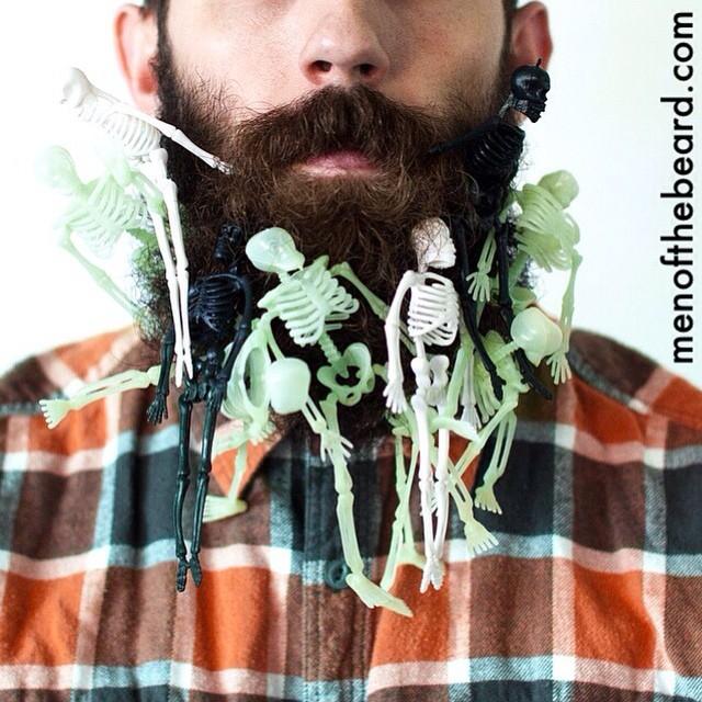 Happy #Halloween!  #beard #menofthebeard