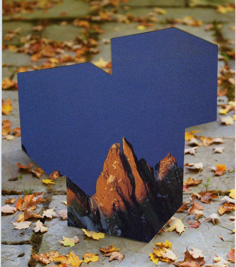 Blue Cubes and Mountain Tops