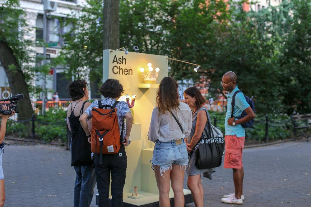 Union Sq show x Ash Chen