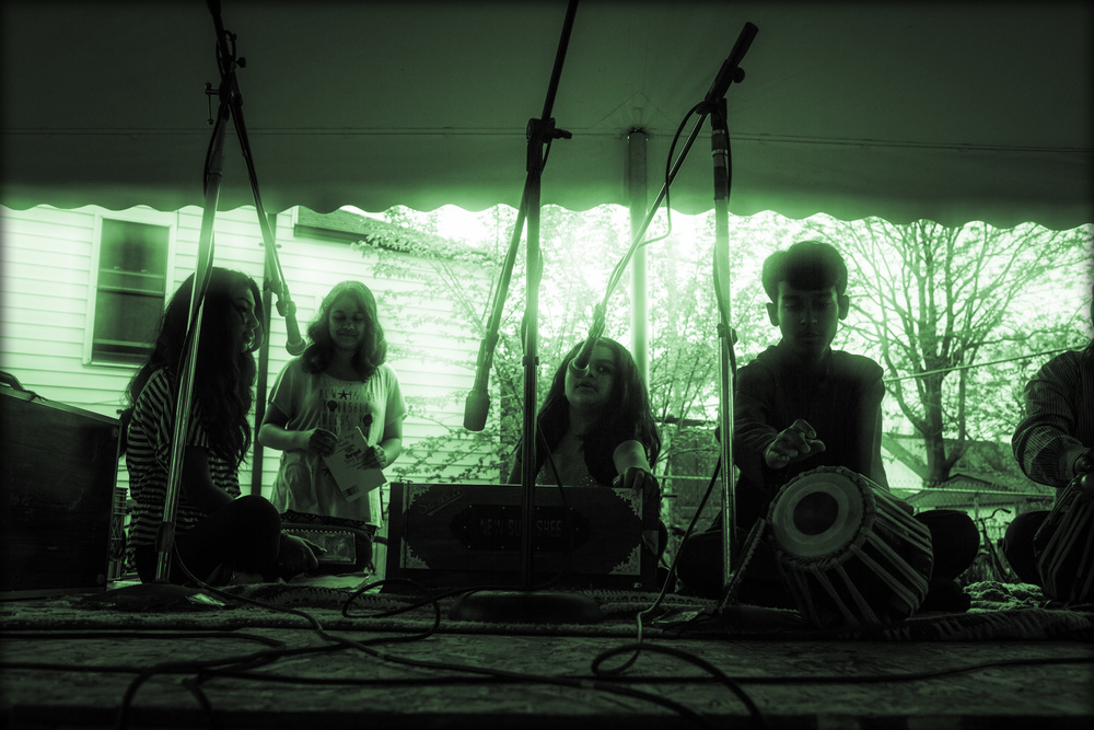 Bangla School of Music - Detroit Folk Workshop Stage - Porous Borders Festival - May 2015 - Hamtramck, MI